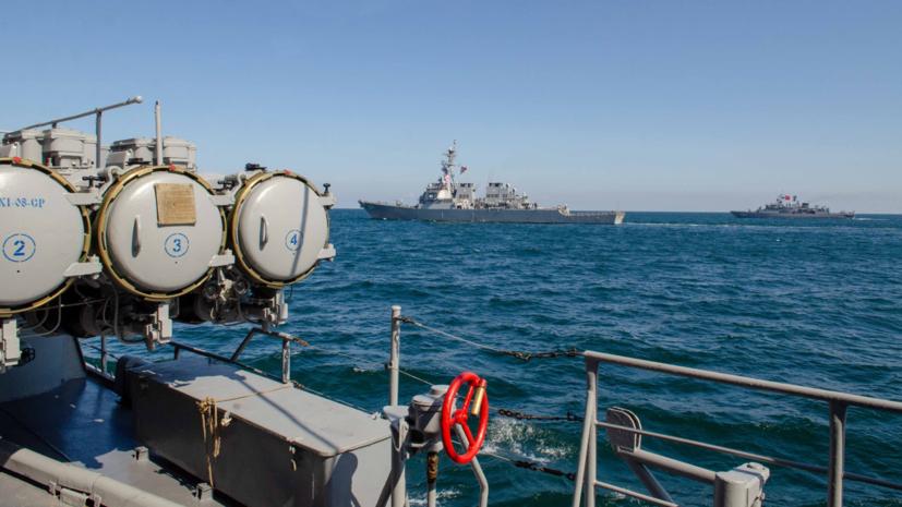 Эксперт прокомментировал учения стран НАТО в Чёрном море