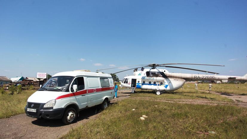 Число госпитализированных из-за наводнения в Иркутской области возросло до 647