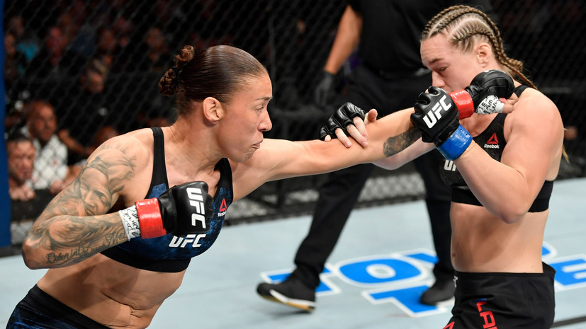 Тремор во время взвешивания и спорный нокаут на 16-й секунде: как Лэдд упустила шанс сразиться за титул чемпионки UFC