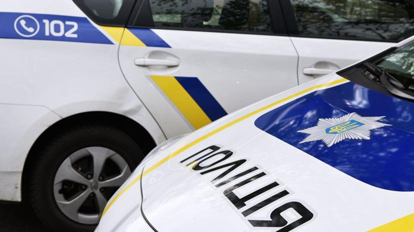 На Украине машина врезалась в группу детей-велосипедистов