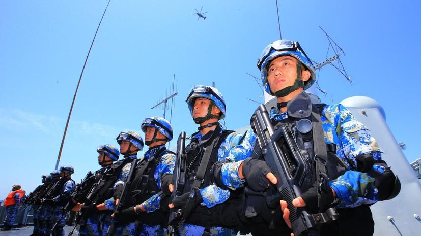 Китай проведёт военные учения на юго-восточном побережье