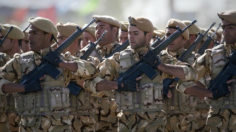 Командующий армией Ирана заявил о готовности отразить любое нападение