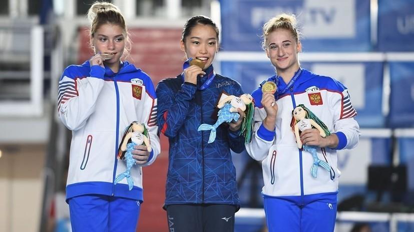 Российские спортсмены завоевали 82 медали на Универсиаде-2019