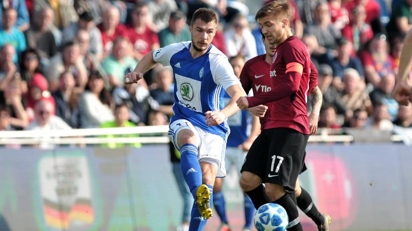 Гол Комличенко помог ФК «Млада-Болеслав» добыть победу в матче чемпионата Чехии
