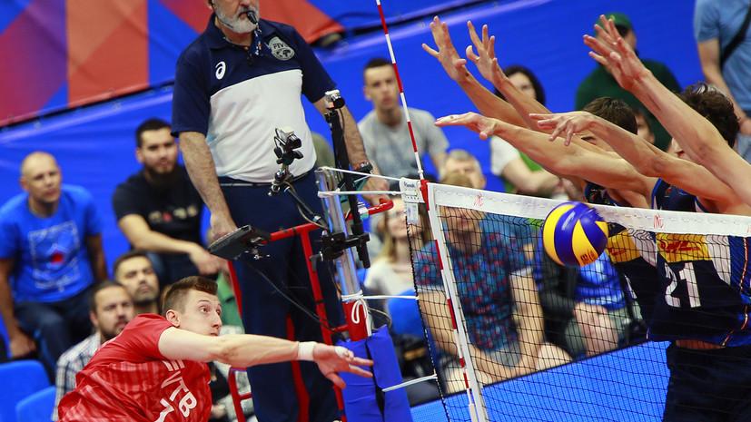 Трое российских волейболистов попали в символическую сборную Лиги наций