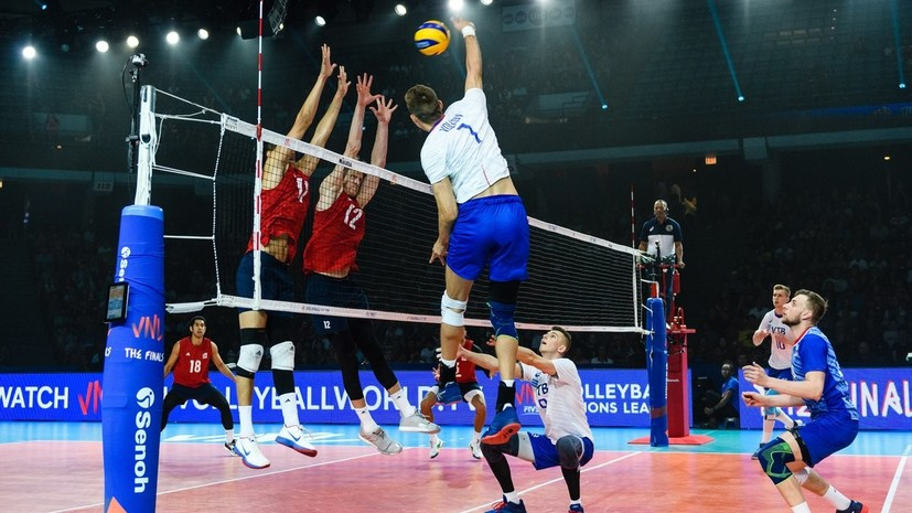 Тетюхин: сборная России по волейболу играла по-мужски в матче с США