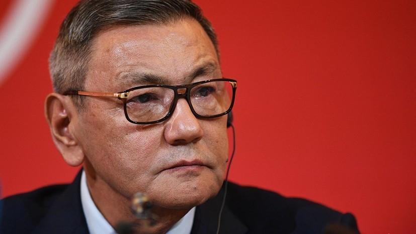 Президент AIBA Рахимов окончательно сложил полномочия