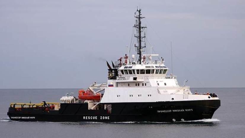 Направляющийся в Персидский залив буксир ЧФ зашёл в порт Джибути