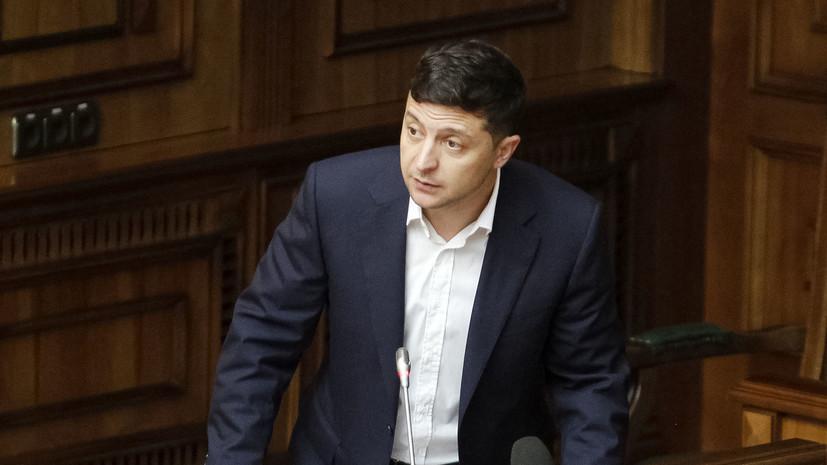 Зеленский прокомментировал ДТП с участием своего кортежа в Запорожье