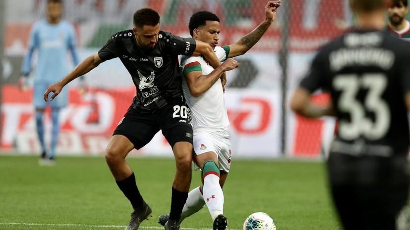 «Локомотив» сыграл вничью с «Рубином» в первом туре РПЛ