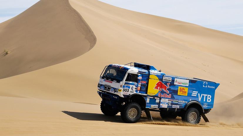 Российский экипаж Шибалова победил на ралли «Шёлковый путь» среди грузовиков