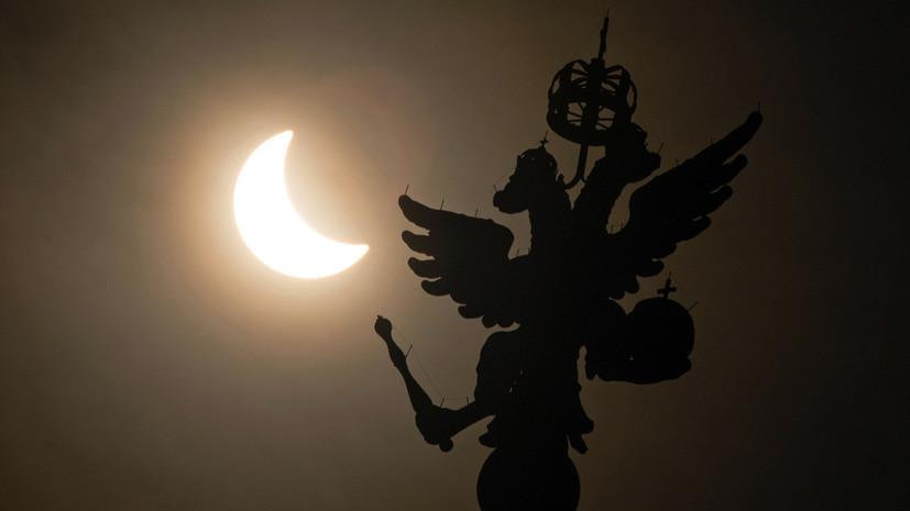 В ночь на 17 июля жители России смогут увидеть частичное лунное затмение