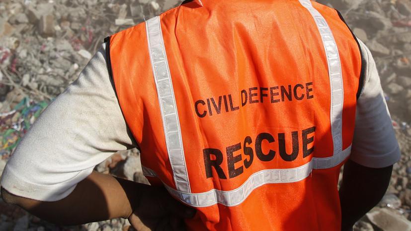 В Индии под завалами обрушившегося дома находятся более 40 человек