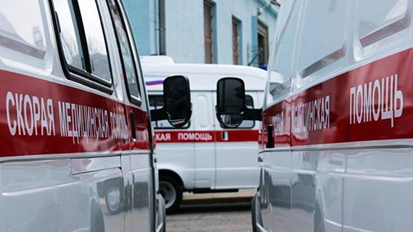 После падения легкомоторного самолёта в Чечне госпитализированы двое