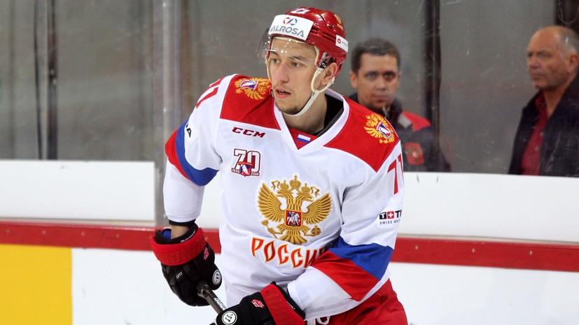 Агент: Бурдасов получил предложение из НХЛ
