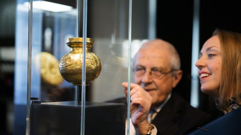 Профессор МГУ прокомментировал ситуацию вокруг скифского золота