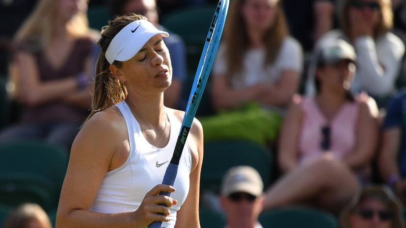 Австрийская теннисистка Шетт считает, что карьера Шараповой подходит к концу