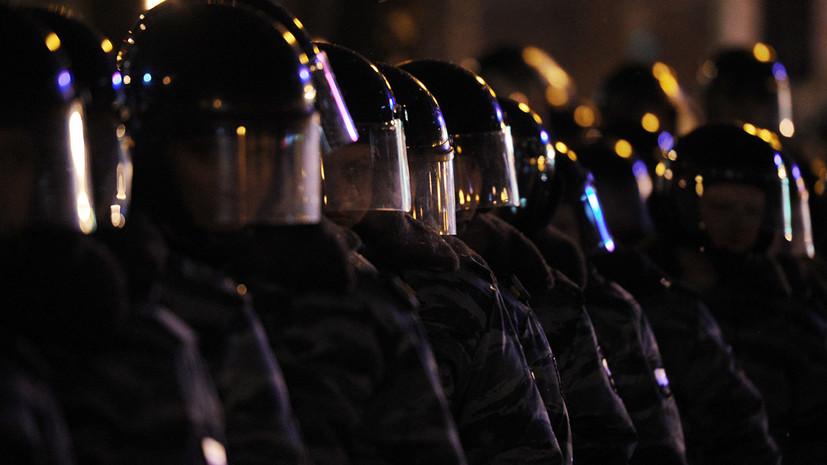 РПЛ попросит полицейских не скрывать лица при работе на футбольных матчах