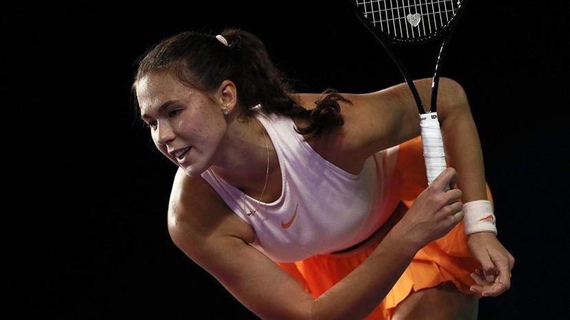 Вихлянцева обыграла Перрин и вышла во второй круг турнира WTA в Лозанне