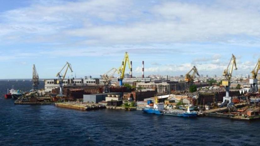 Названа возможная причина пожара на судостроительном заводе в Петербурге