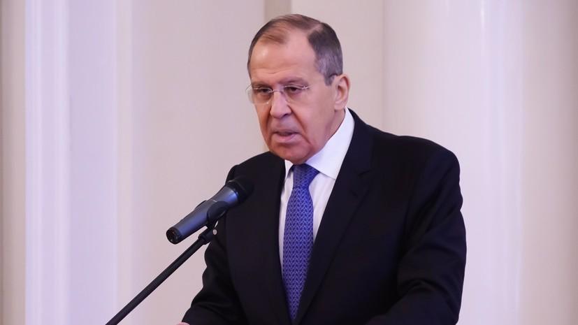 Лавров назвал условия возобновления авиасообщения с Грузией