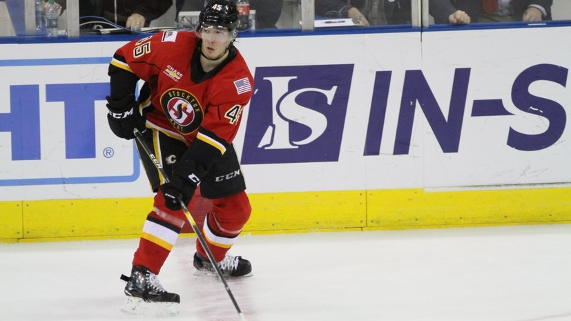 Российский хоккеист Валиев подписал контракт с клубом НХЛ «Калгари»