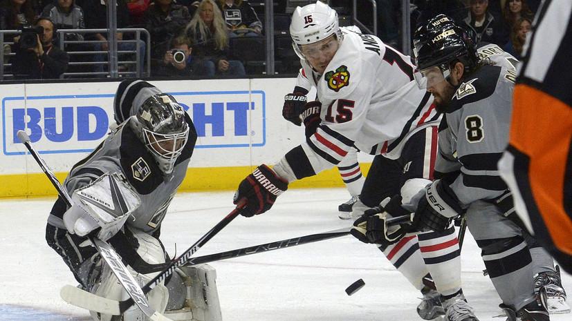 «Чикаго» обменял российского хоккеиста Анисимова в «Оттаву»