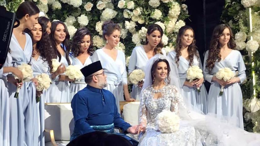 СМИ сообщили о разводе экс-короля Малайзии с «Мисс Москвой — 2015»