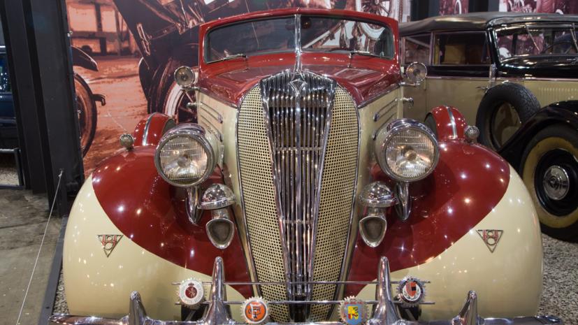 В Москве открылся самый большой в стране музей ретроавтомобилей