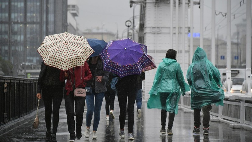 Синоптики рассказали о росте числа неблагоприятных погодных явлений в Москве