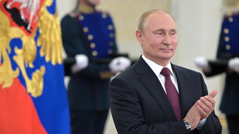 Путин поздравил Урсулу фон дер Ляйен с избранием на пост главы ЕК