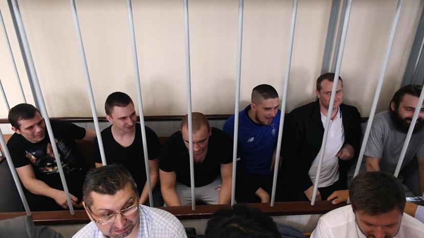 Суд в Москве продлил арест шести задержанным украинским морякам
