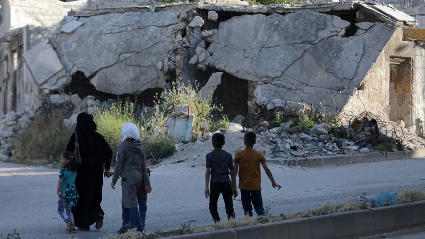 В ЦПВС сообщили об обстреле боевиками населённых пунктов в Сирии
