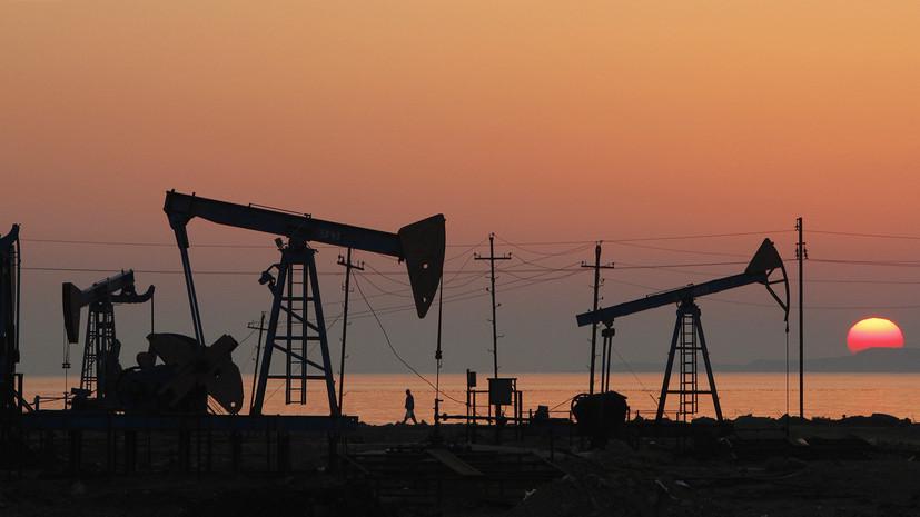 Цена на нефть марки Brent растёт