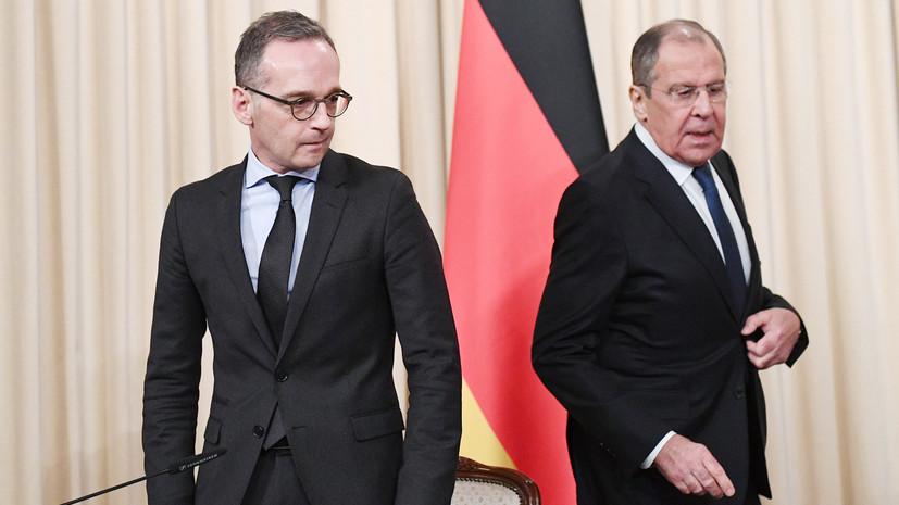Маас намерен обсудить с Лавровым ситуацию вокруг украинских моряков