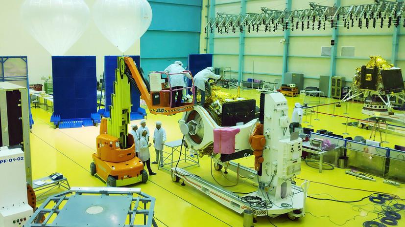 Индия назначила новую дату запуска к Луне миссии «Чандраян-2»