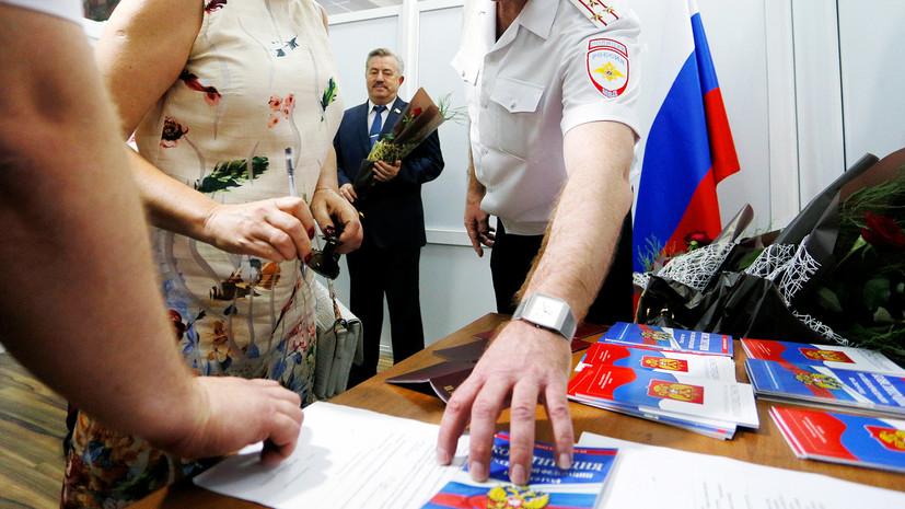 «Решение аргументированно»: в Кремле ответили Украине на критику указа о паспортах РФ для жителей Донбасса