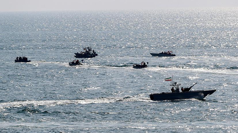 Миллион литров контрабанды: Иран сообщил о задержании нефтяного танкера в Персидском заливе