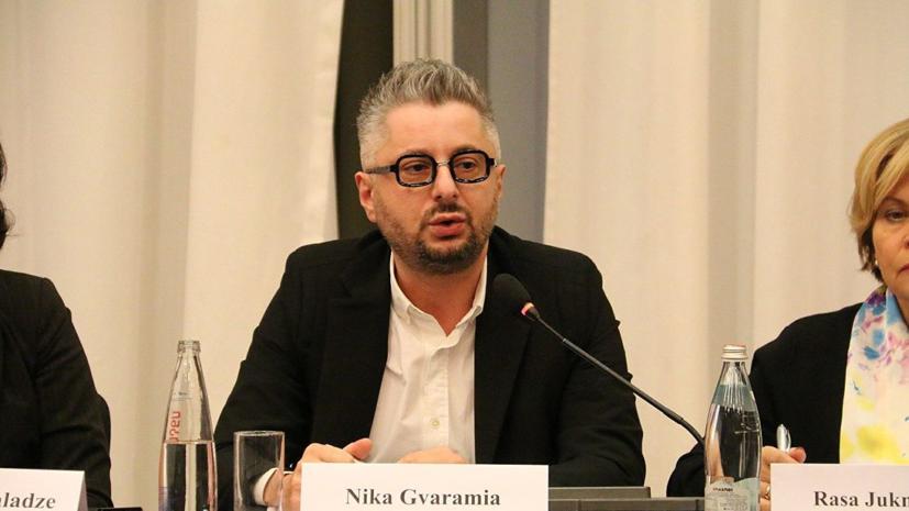 Гварамию уволили с должности гендиректора «Рустави 2»