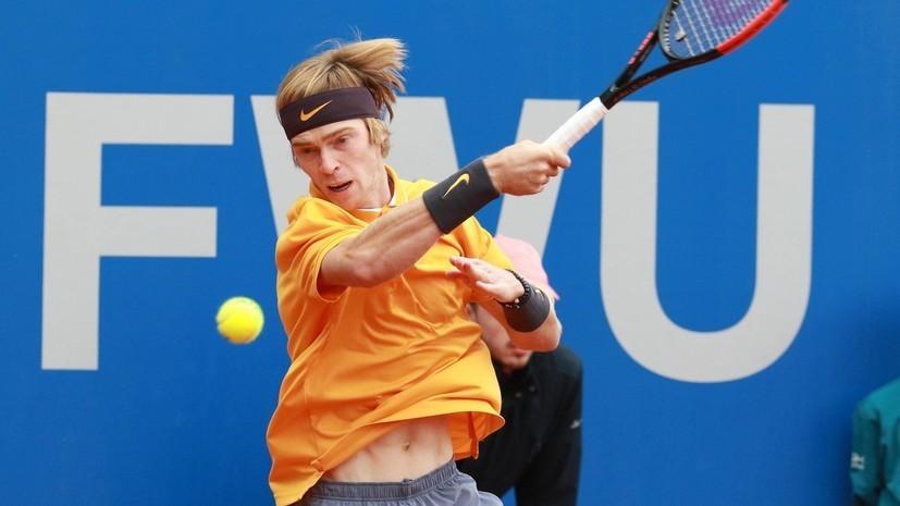 Рублёв проиграл Лайовичу на теннисном турнире в Умаге