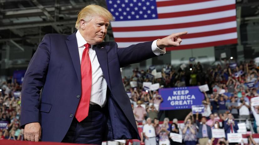 Трамп назвал имя кандидата на должность министра труда США