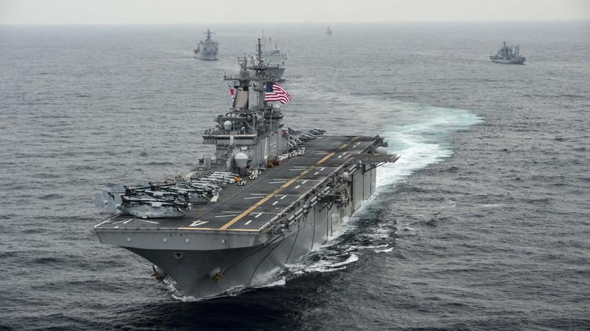Рябков заявил об угрозе вспышки конфликта в Персидском заливе
