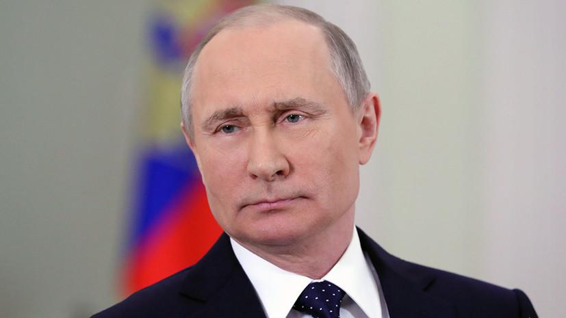 Путин обещал мальчику из Тулуна следить за ремонтом утонувшего детсада