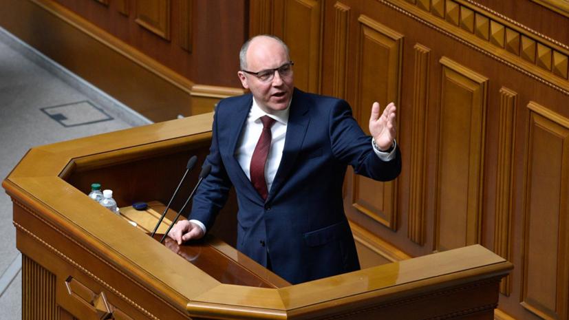 Зеленский заявил, что Парубий помешал новым партиям попасть в Раду