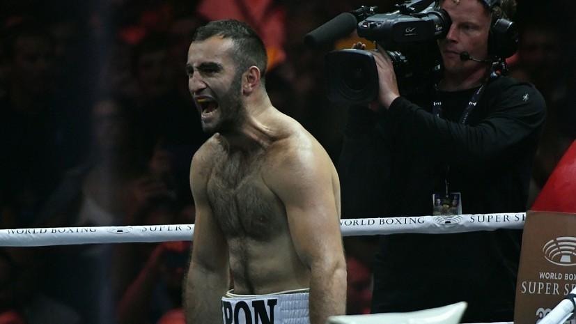 Дебютный бой Гассиева в супертяжёлом весе отменён из-за травмы
