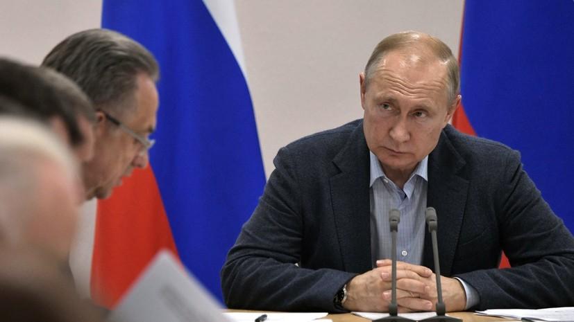 Путин назвал неудовлетворительной работу в зоне паводка в Приангарье
