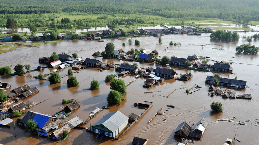 СК возбудил дело после гибели 25 человек при паводке в Приангарье