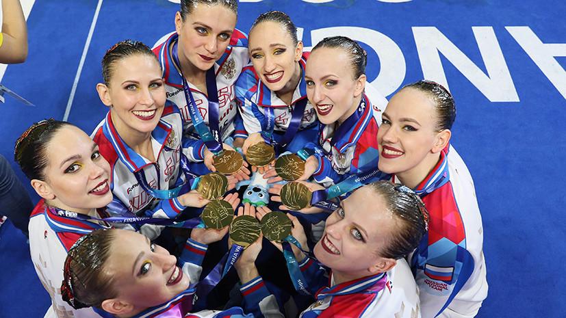 Седьмое золото синхронистов, серебро в плавании и разговоры о допинге: итоги восьмого дня ЧМ по водным видам спорта