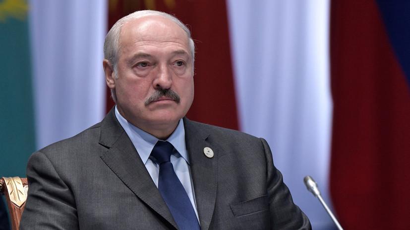 Лукашенко надеется на углубление политического диалога Белоруссии и ЕС