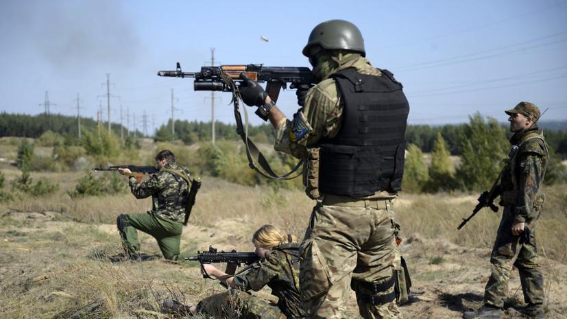 В ДНР заявили о подрыве грузовика батальона «Айдар» на мине в Донбассе